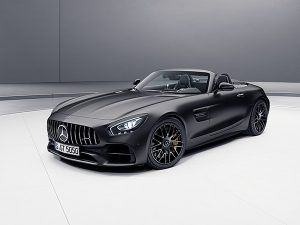 """Nuevo Mercedes-AMG GT C Roadster """"Edition 50"""" designo gris grafito magno - PUNTA TACÓN TV"""