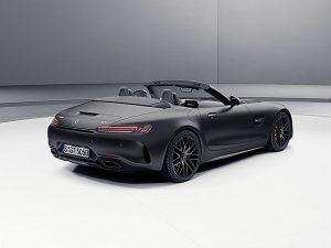 """Nuevo Mercedes-AMG GT C Roadster """"Edition 50"""" designo gris grafito magno trasera - PUNTA TACÓN TV"""