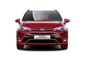 Nuevo Toyota Avensis Touring Sports frente - PUNTA TACÓN TV