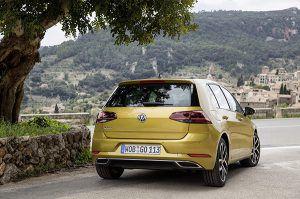 Nuevo Volkswagen Golf trasera - PUNTA TACÓN TV