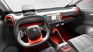 Puesto de conducción Citroën C-Aircross Concept - PUNTA TACÓN TV