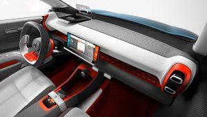 Salpicadero Citroën C-Aircross Concept - PUNTA TACÓN TV