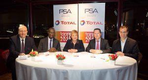 Firma acuerdo entre Grupo PSA y TOTAL - PUNTA TACÓN TV