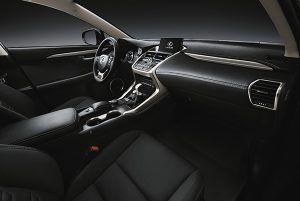 Lexus NX 300h Sport edition interior - PUNTA TACÓN TV