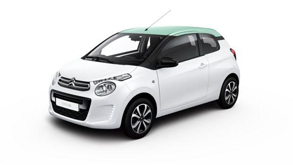 Citroën C1 City Edition blanco - PUNTA TACÓN TV
