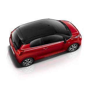 Citroën C1 City Edition rojo - PUNTA TACÓN TV