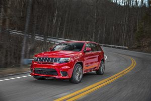 Jeep Grand Cherokee Trackhawk frente - PUNTA TACÓN TV