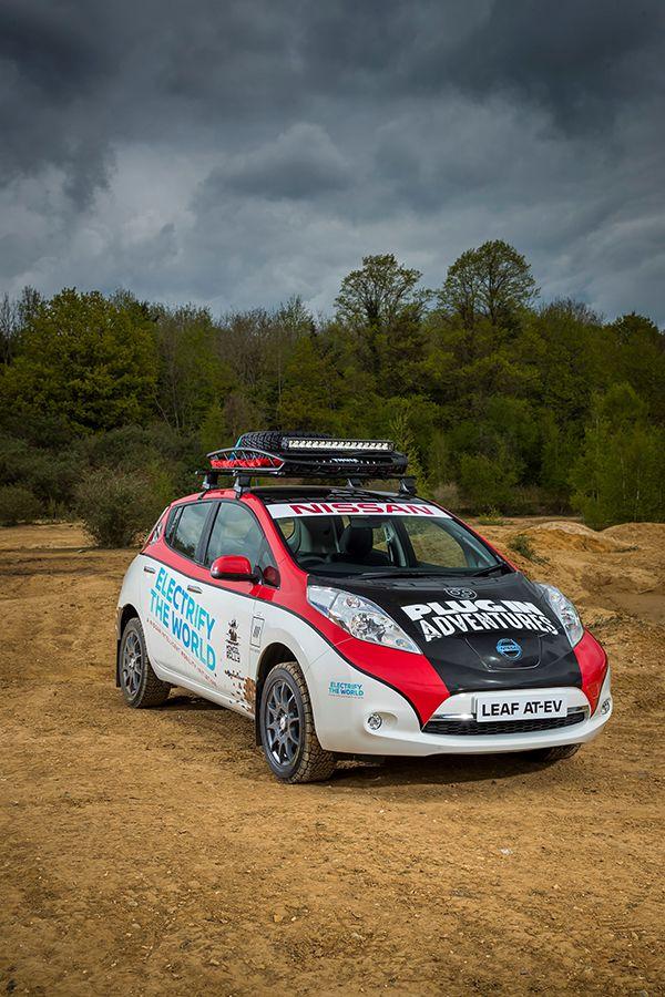 Nissan LEAF AT-EV frente - PUNTA TACÓN TV