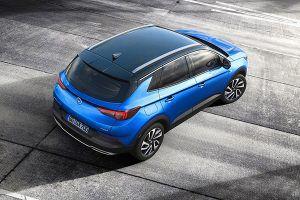 Nuevo Opel Grandland X superior - PUNTA TACÓN TV
