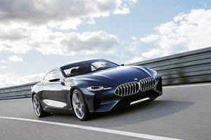 BMW Serie 8 Concept frente - PUNTA TACÓN TV
