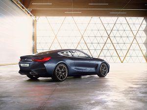 BMW Serie 8 Concept trasera - PUNTA TACÓN TV