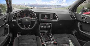 Interior SEAT Ateca FR - PUNTA TACÓN TV