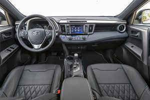 Interior Toyota RAV 4 hybrid feel! edition - PUNTA TACÓN TV