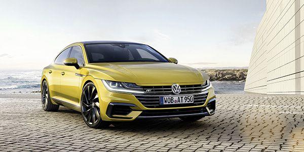Nuevo Volkswagen Arteon frente - PUNTA TACÓN TV