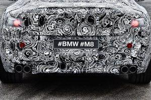 Prototipo BMW M8 trasera - PUNTA TACÓN TV