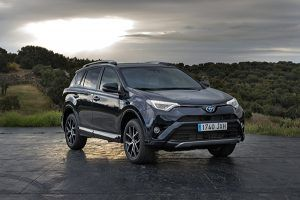 Toyota RAV 4 hybrid feel! edition frente - PUNTA TACÓN TV