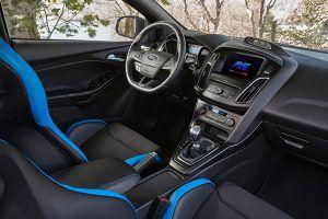Interior nuevo pack opcional Focus RS - PUNTA TACÓN TV