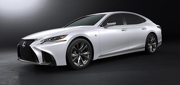Lexus LS 500h F Sport - PUNTA TACÓN TV