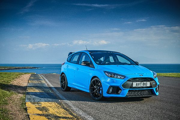 Pack opcional para el Ford Focus RS - PUNTA TACÓN TV