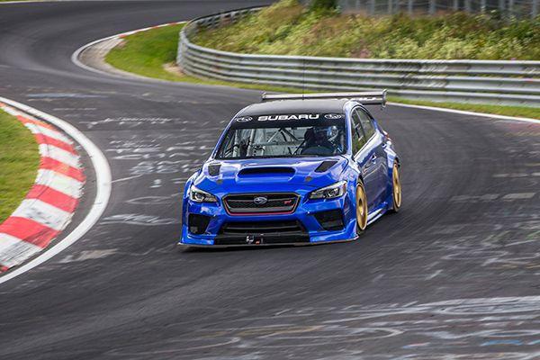 Record de vuelta del Subaru WRX STI Type RA NBR - PUNTA TACÓN TV