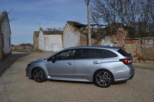 Subaru Levorg lateral - PUNTA TACÓN TV