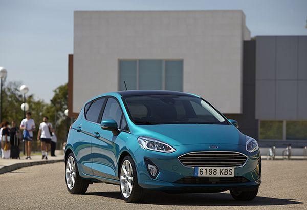 Nuevo Ford Fiesta frente - PUNTA TACÓN TV