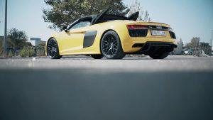 Audi R8 Spyder – Punta Tacon Tv