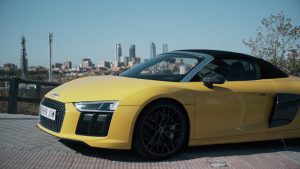 Audi R8 Spyder - PUNTA TACON