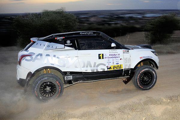 SsangYong Tivoli Rally Raid 4WD - PUNTA TACÓN TV