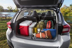 Capacidad maletero Subaru XV - PUNTA TACÓN TV