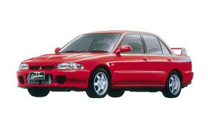 Mitsubishi Lancer Evolution 1992 - PUNTA TACÓN TV
