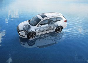 Mitsubishi Outlander PHEV - PUNTA TACÓN TV