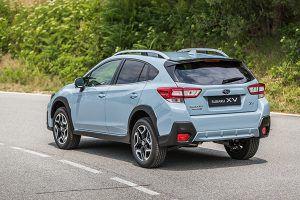 Nuevo Subaru XV trasero - PUNTA TACÓN TV