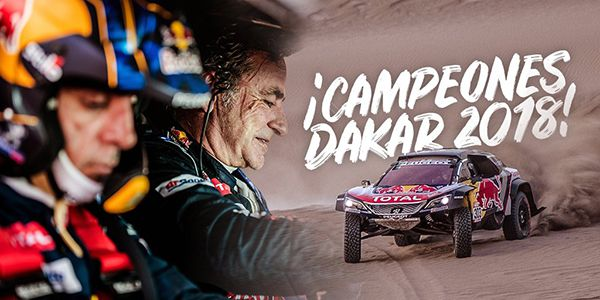 Campeones Dakar 2018 - PUNTA TACÓN TV