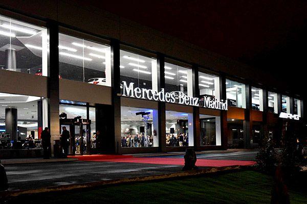 Inauguración Flagship Store Mercedes-Benz Madrid - PUNTA TACÓN TV