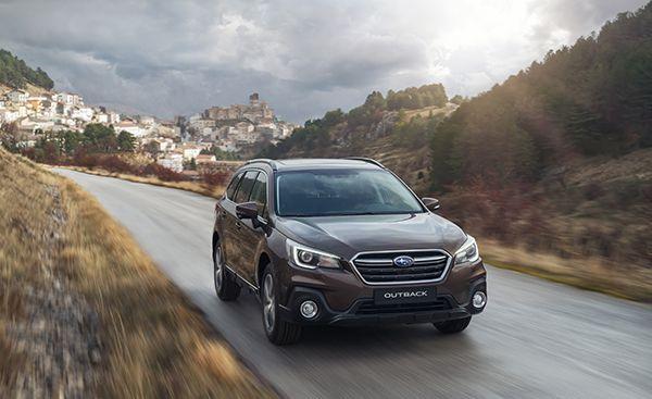 Subaru Outback Executive Plus-S frente - PUNTA TACÓN TV