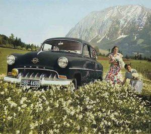 Opel Olympia Rekord - PUNTA TACÓN TV