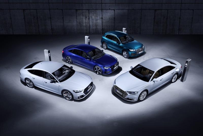 Gama Audi Híbrida Enchufable - PUNTA TACÓN TV