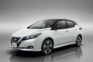 Nissan LEAF frente - PUNTA TACÓN TV