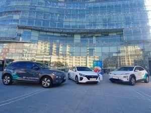 Vehículos electricos Hyundai - PUNTA TACÓN TV